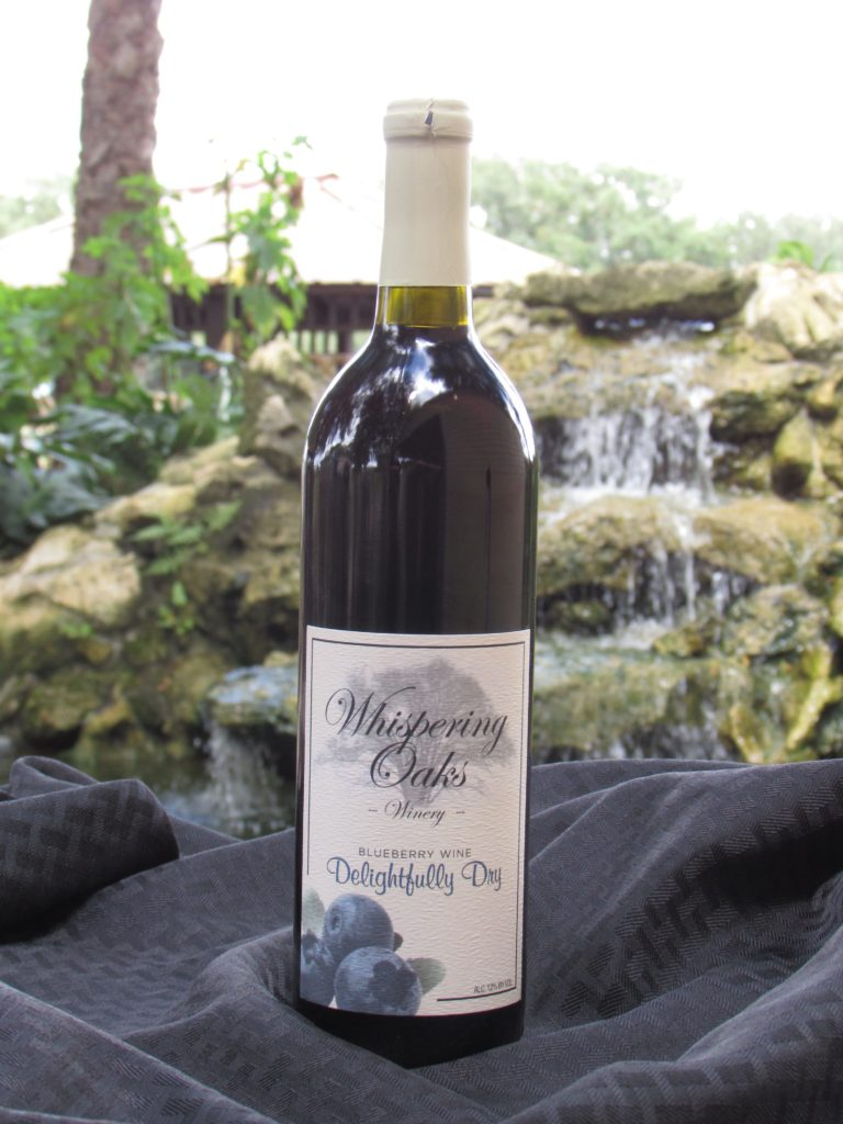 Delightfully Dry Blueberry Wine Product Image
