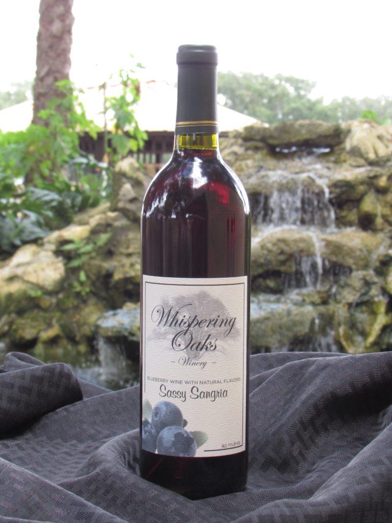 Sassy Sangria Blueberry Wine Product Image